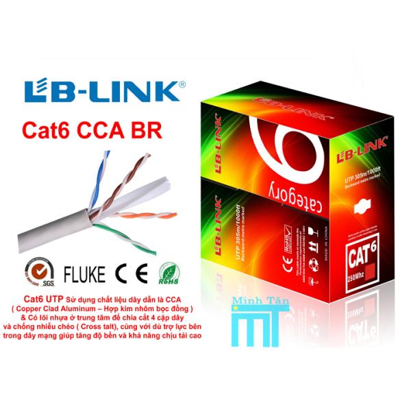 Bảng giá Cáp mạng LBLINK Cat6e Thùng 305M 8 lõi Phong Vũ
