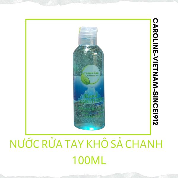 GEL RỬA TAY KHÔ TINH DẦU SẢ CHANH 100ML nhập khẩu