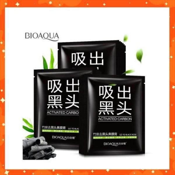 COMBO 10 MẶT NẠ LỘT MỤN đầu đen và bã nhờn siêu sạch Bioaqua