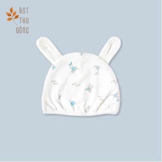 Nón dày thỏ xanh - Miomio - dành cho bé từ 0-24 tháng, chất lượng đảm bảo an toàn đến sức khỏe người sử dụng, cam kết hàng đúng mô tả