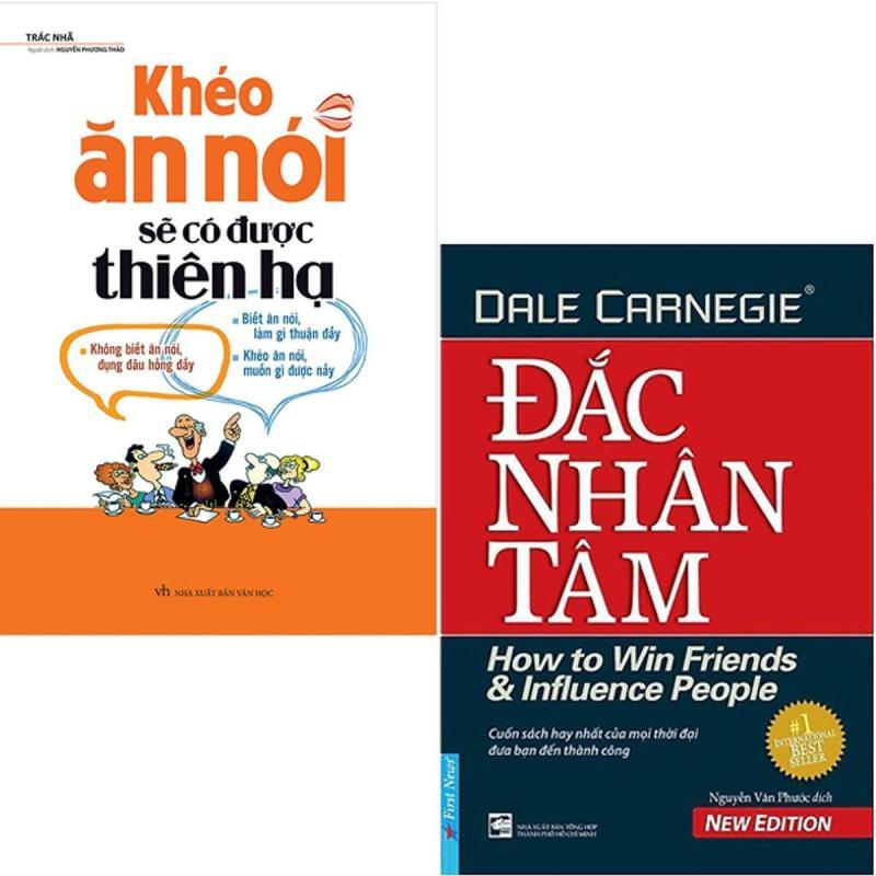 Mua Combo 2 sách Đắc Nhân Tâm + Khéo Ăn Nói Sẽ Có Được Thiên Hạ