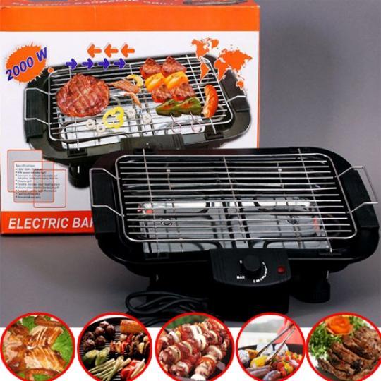 Bếp nướng điện không khói, công nghệ Hàn Quốc, công suất 2000W