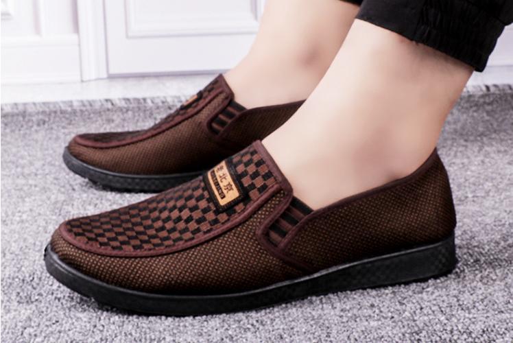 Giày mọi nam có clip chi tiết