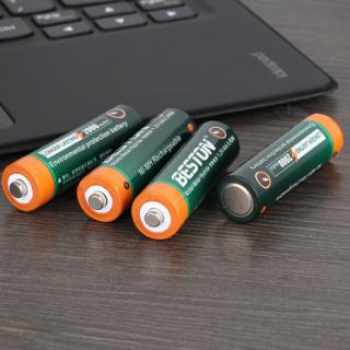Hộp 4 pin tiểu sạc AA 2000mAh (không kèm sạc) Beston chính hãng Pin dung lượng cao chuyên dùng cho micro không dây, máy ảnh thumbnail