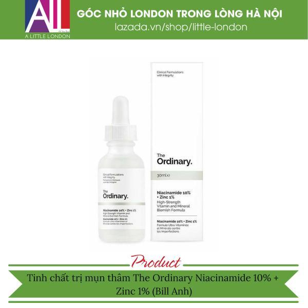Tinh chất kháng mụn The Ordinary Niacinamide 10% Zinc 1% (Bill Anh)