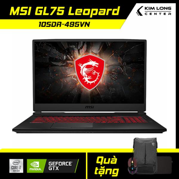 Bảng giá [BẢO HÀNH 24 THÁNG][ĐỔI MỚI 15 NGÀY] Laptop MSI GL75 Leopard 10SDR-495VN : i7-10750H   16GB RAM   512GB SSD   GTX 1660Ti 6GB + UHD Graphics 630   17.3 FHD 144Hz   Win 10 Phong Vũ