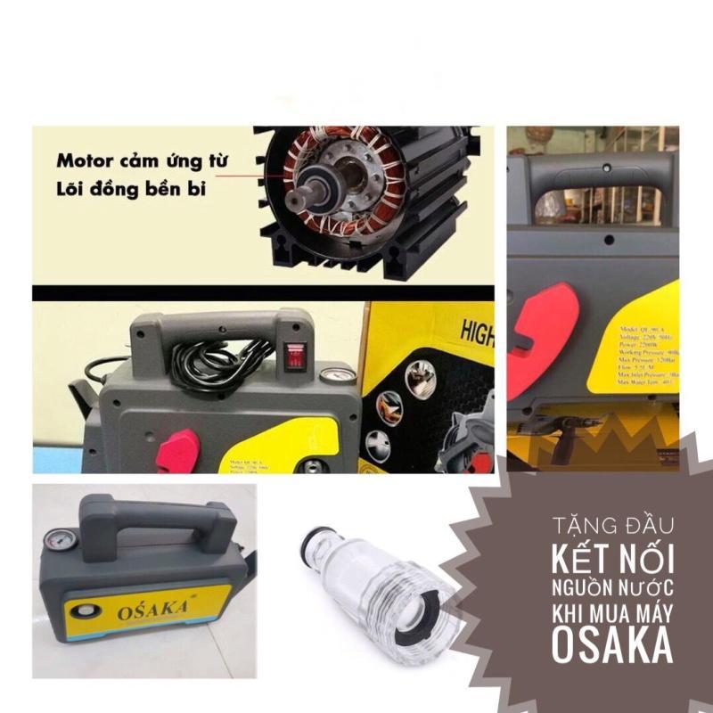 Máy rửa xe áp lực cao OSAKA - Tặng thêm kết nối nguồn nước
