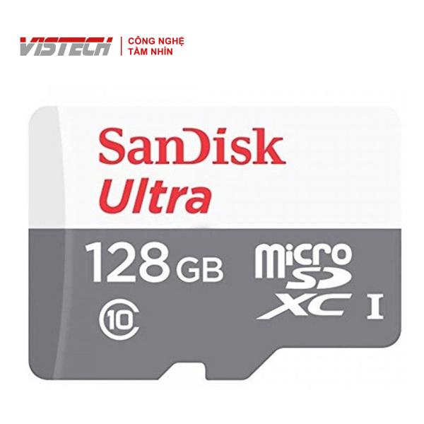 Thẻ Nhớ MicroSDHC SanDisk Ultra 128GB 80MB/s 533x SDSQUNS-128G-GN3MN
