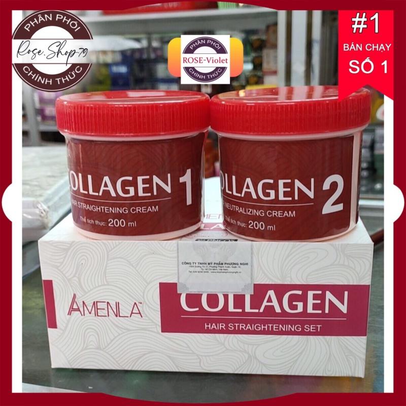 Thuốc duỗi tóc collagen phục hồi tóc mini giá rẻ