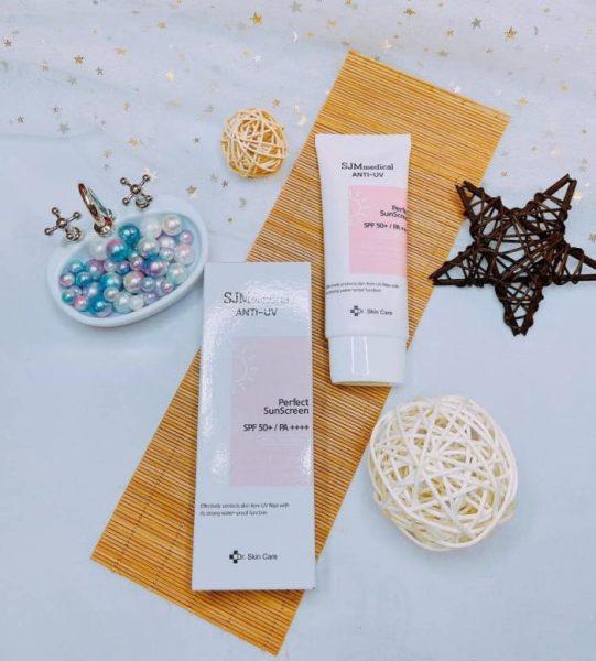 Kem Chống Nắng Dr.Skin Care SJM Medical Anti – UV Perfect SunScreen SPF 50+ / PA ++++ cao cấp