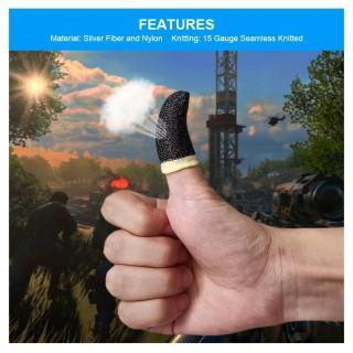 Bao tay chơi game - găng tay chơi game finger sleeve cao cấp cảm ứng bao ngón tay chống mồ hôi chống trượt thumbnail