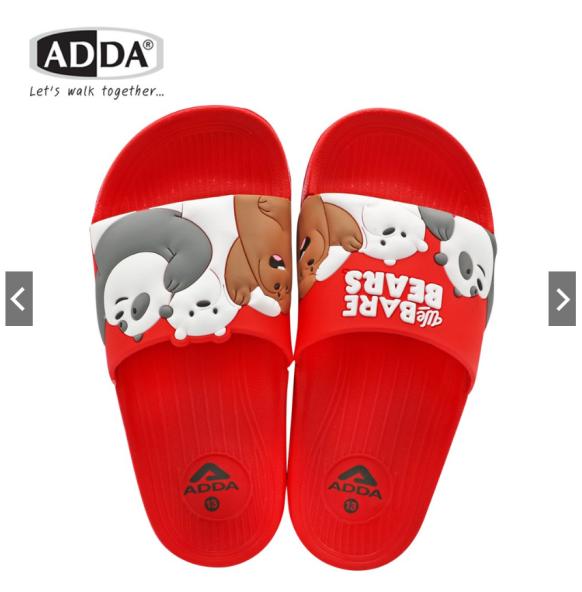 Dép Bé Gái ADDA Thái Lan Hình Gấu Chính Hãng – Đỏ giá rẻ
