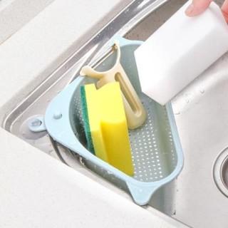 rổ ráo nước - rổ lọc rác gắn bồn rửa chén đa năng hình tam giác ( giao màu ngẫu nhiên ) thumbnail
