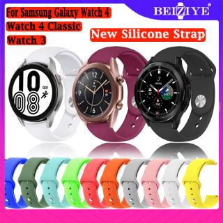 Vòng đeo tay thể thao silicon mới 20mm 22mm cho đồng hồ thông minh Samsung Galaxy Watch 4 4 Classic Watch 3 41mm 45mm Beiziye - INTL thumbnail