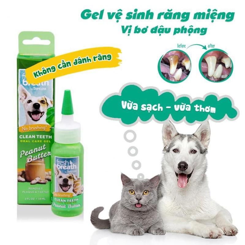 Gel Răng Miệng Cho Chó, Mèo Fresh Breath