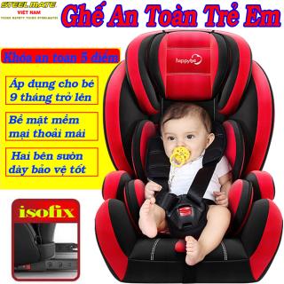 [CHÍNH HÃNG] Ghế ngồi ô tô cho bé STEELMATE an toàn với chuẩn ISOFIX QUỐC TẾ, dây đai an toàn thế hệ mới chắc chắn, chất liệu thoáng khí tương thích mọi loại xe, điều chỉnh độ ngả của ghế- BH 12 Tháng - CAR47 thumbnail