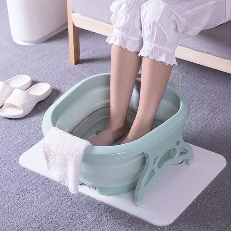 Chậu ngâm chân masage Thông minh gấp gọn