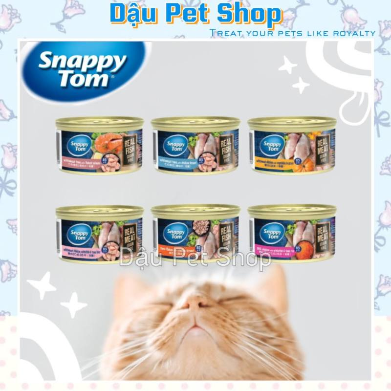 Pate Snappy Tom Premium lon 85g cho mèo