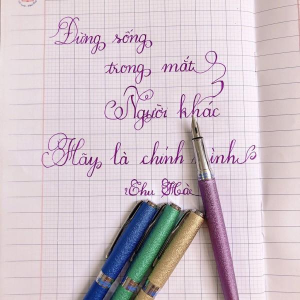 Mua Bút Máy Ngòi Lá Tre BM-005 Luyện Chữ Đẹp