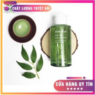 [HÀNG HOT]NƯỚC TẨY TRANG TRÀ XANH INNISFREE GREEN TEA CLEANSING WATER 300ml Nước tẩy trang được chiết xuất từ trà xanh nên phù hợp với các loại da, kể cả da nhạy cảm nhất.(BẢO HÀNH 1 ĐỔI 1) thumbnail