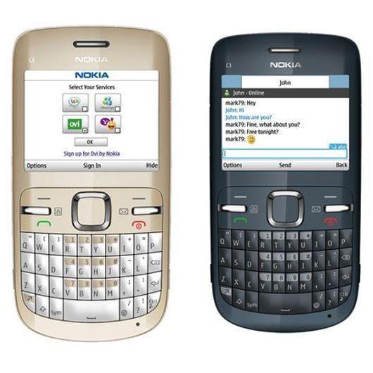 Voucher Khuyến Mãi NOKIA C3-00 KẾT NỐI WIFI, 3G, KÈM ĐỦ PIN SẠC