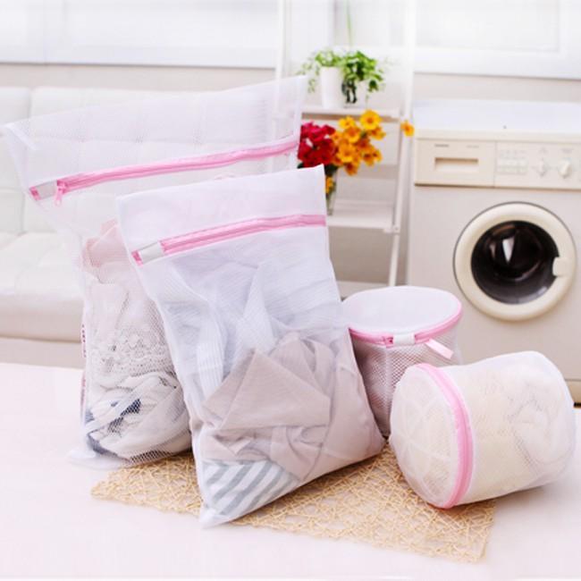 Túi Lưới Đựng Quần áo Máy Giặt (Trắng)