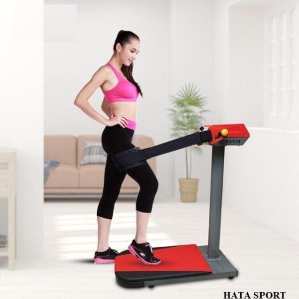 Máy massage toàn thân đứng đầu đỏ bằng sắt CHẮC CHẮN, động cơ MẠNH MẼ GIÚP GIẢM CÂN NHANH (HÀNG CAO CẤP CHUYÊN DÙNG CHO PHÒNG TẬP VÀ GIA ĐÌNH)) - Máy rụng bụng đứng
