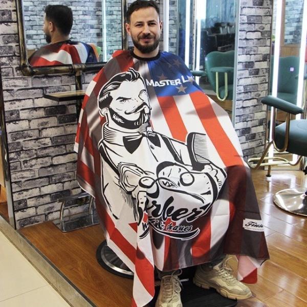 Bảng giá Áo Choàng Cắt Tóc Barber-chất liệu vải mềm,không nhăn,không thấm nước,không bám tóc-khăn choàng cắt tóc,áo cắt tóc-dụng cụ tóc ptc Điện máy Pico