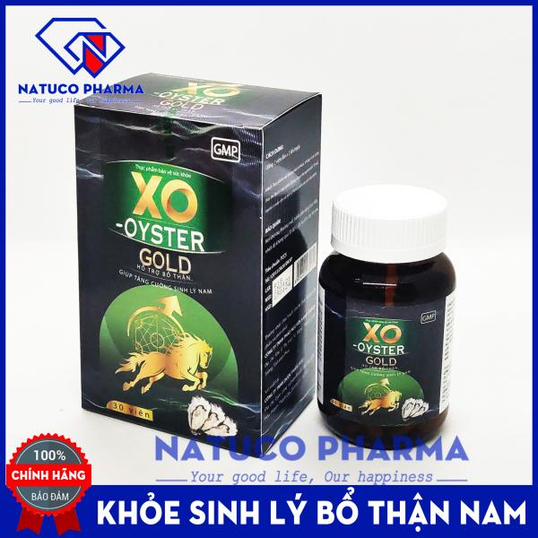 Viên uống tăng cường sinh lý XO - OYSTER GOLD (Green) - thành phần hàu biển dâm dương hoắc nhân sâm, tỏa dương - Giúp bổ thận tráng dương, mạnh gân cốt,  - Hộp 30 viên chuẩn GMP