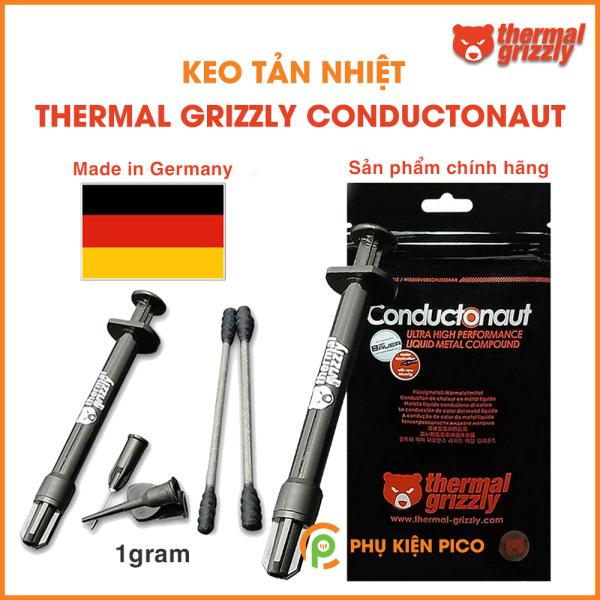 Keo tản nhiệt kim loại lỏng Thermal Grizzly Conductonaut 1 Gram