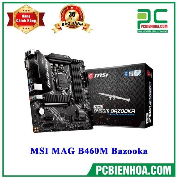 Bảng giá Mainboard MSI MAG B460M-BAZOOKA ( LGA1200 / M-ATX / 4xDDR4 ) Phong Vũ