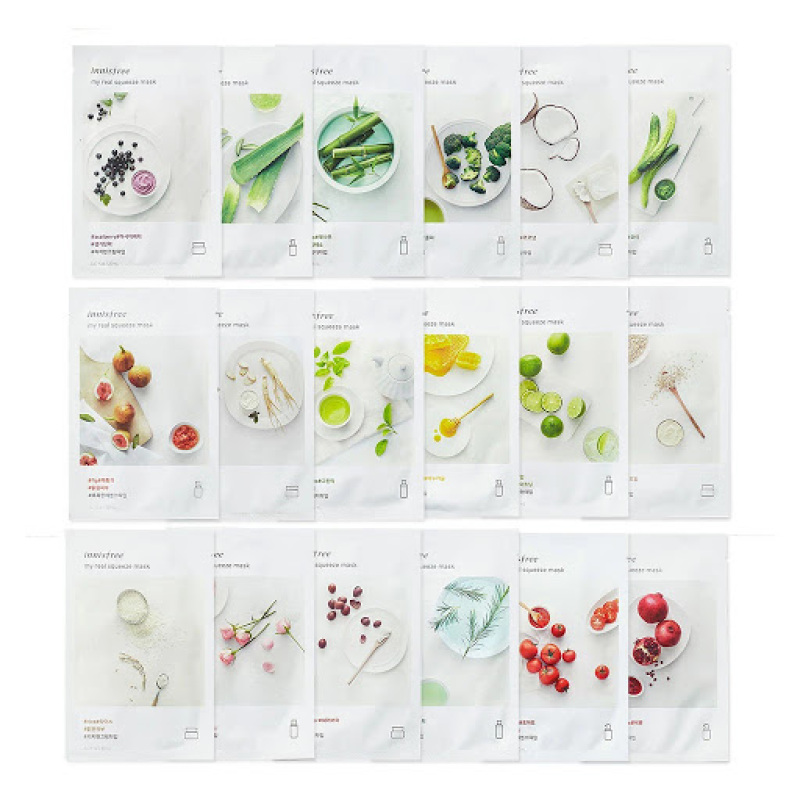 Mặt nạ giấy Innisfree My Real Squeeze Mask EX