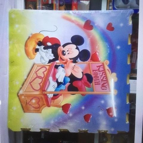 Hình ảnh thảm xôp ghép chuột mickey hàng xịn