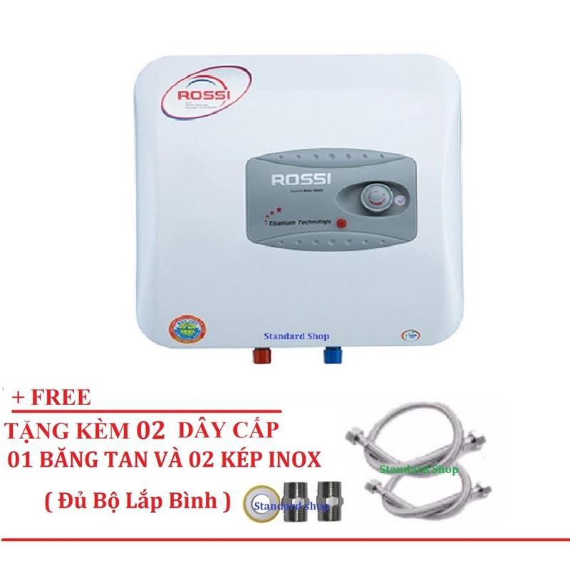 Bảng giá Bình nóng lạnh Rossi R15 Ti (Titanium Chống giật) Tặng bộ dây cấp, kép nối và băng tan Điện máy Pico