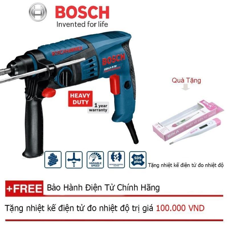 Máy khoan búa Bosch GBH 2-18RE + Quà tặng nhiệt kế điện tử