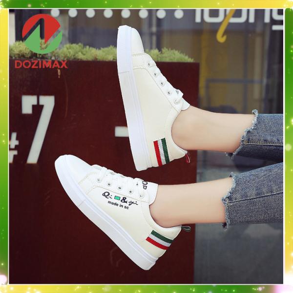 Giầy thể thao nam - giày sneaker nam nữ - giày nam trắng - giày cặp - giày thể thao mẫu mới 2020 - DOZIMAX