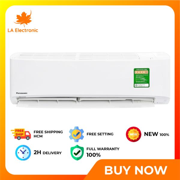 Trả Góp 0% - Máy lạnh Panasonic Inverter 1 HP CU/CS-XPU9WKH-8 - Bảo hành 12 tháng - Miễn phí vận chuyển HCM
