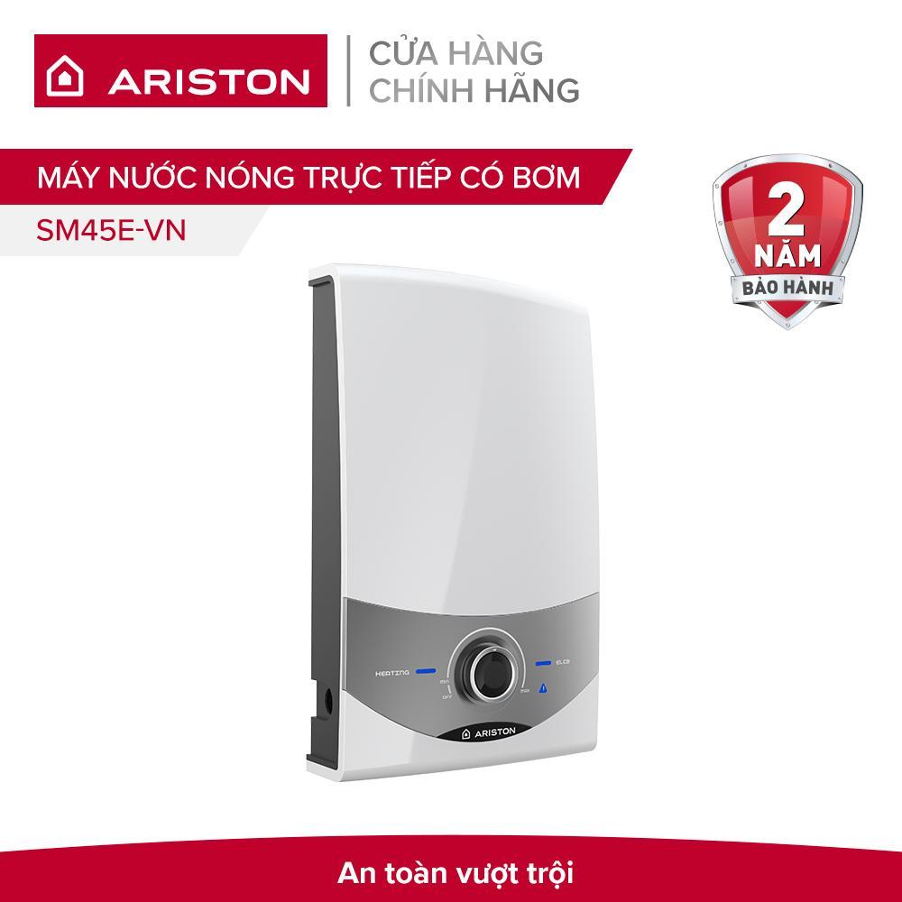 Bảng giá Máy nước nóng trực tiếp không bơm Ariston SM45E-VN 4500W