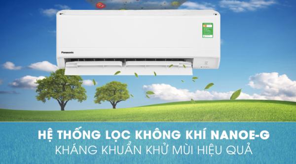 Máy lạnh Panasonic 1.5 HP CU/CS-N12WKH-8-Hàng Chính Hãng-Dòng Thường