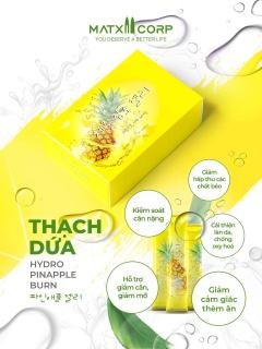 Combo 2 Thạch dứa giảm cân Max Health Hydro Pinapple Burn thumbnail