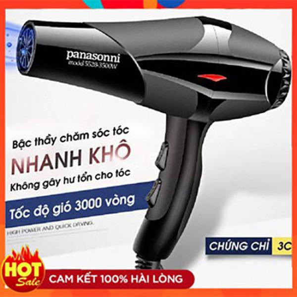 Máy sấy tóc hai chiều nóng lạnh Panasonic model 5528 công suất lớn 3500W, ánh sáng xanh bảo vệ tóc Akycare giá rẻ