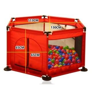 Cũi quây bóng cho bé chơi trong nhà an toàn, thiết kế cố định an toàn, dễ dàng lắp đặt - Lều chơi trong phòng lục giác loại to cho bé trai và bé gái khung inox siêu bền GIÁ KHUYẾN MÃI HÔM NAY thumbnail