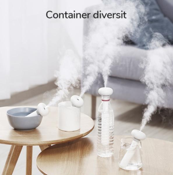 [HÀNG CHÍNH HÃNG] Máy phun sương Jisulife JT06 - Tạo ẩm lọc không khí và giữ ẩm cho da - Thiết kế độc lập hoạt động trên nhiều dụng cụ chứa nước khác nhau - Máy tạo độ ẩm không gian thư giãn - Bảo hành 12 tháng