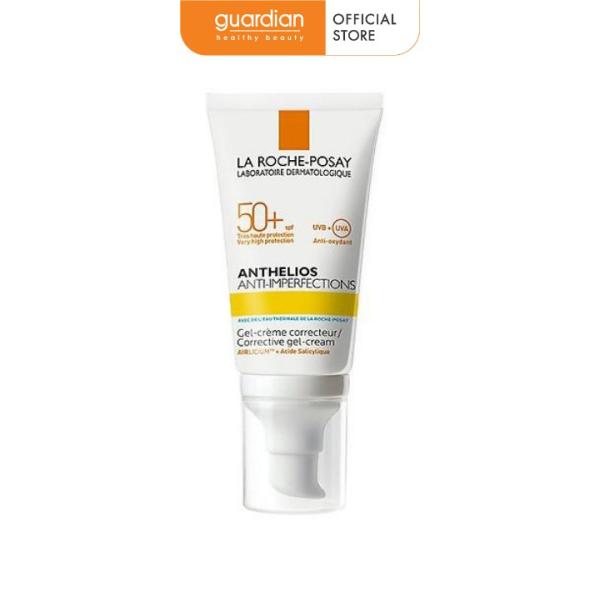 Kem chống nắng cho da bóng dầu dễ nổi mụn La Roche-Posay Anthelios Anti-Imperfections SPF 50+ (50ml)