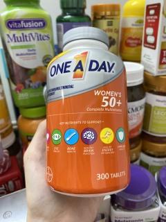 Vitamin Tổng Hợp One A Day For Women 50+ cho phụ nữ trên 50 tuổi ( 300 viên ) thumbnail