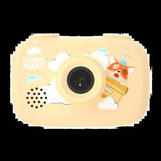 ĐỒ CHƠI CLEVER HIPPO TOY - Mô hình Máy chụp hình thông minh - vàng cá tính - MH-YT011 YL thumbnail