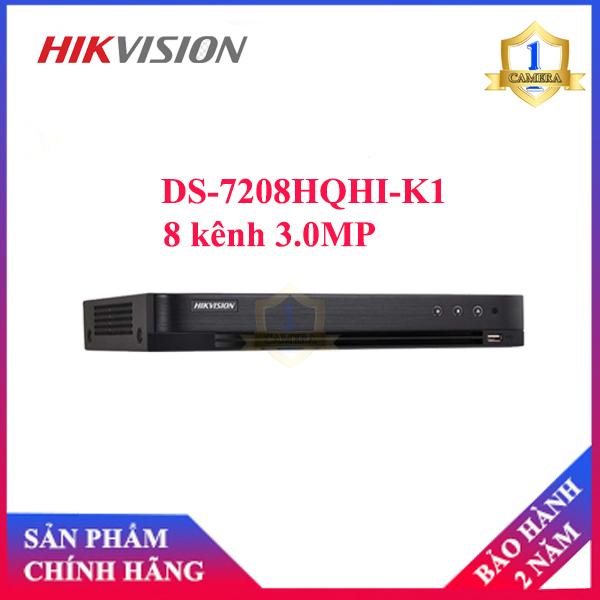 Đầu ghi Camera TVI HIKVISION DS-7208HQHI-K1 8 kênh 3.0MP
