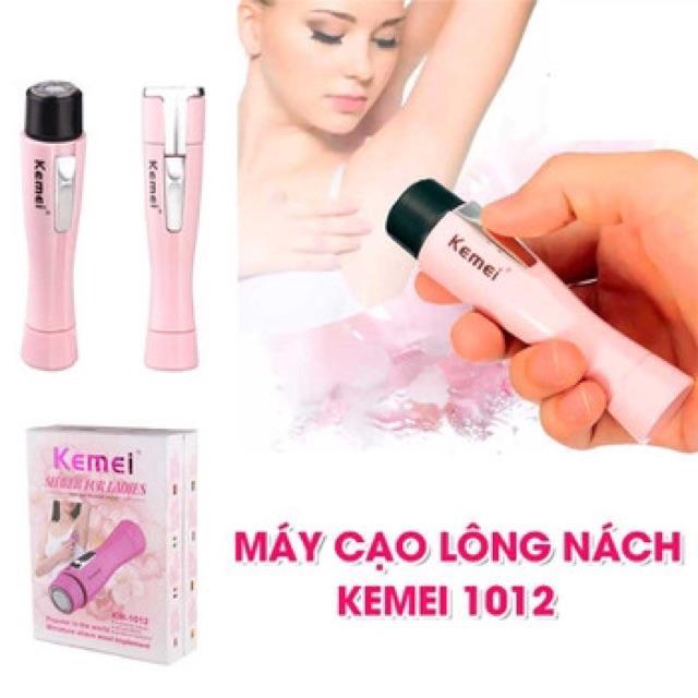 Máy Cạo Lông Nách lông tay kemei KM-1012 loại cao cấp rất bền tốt nhất