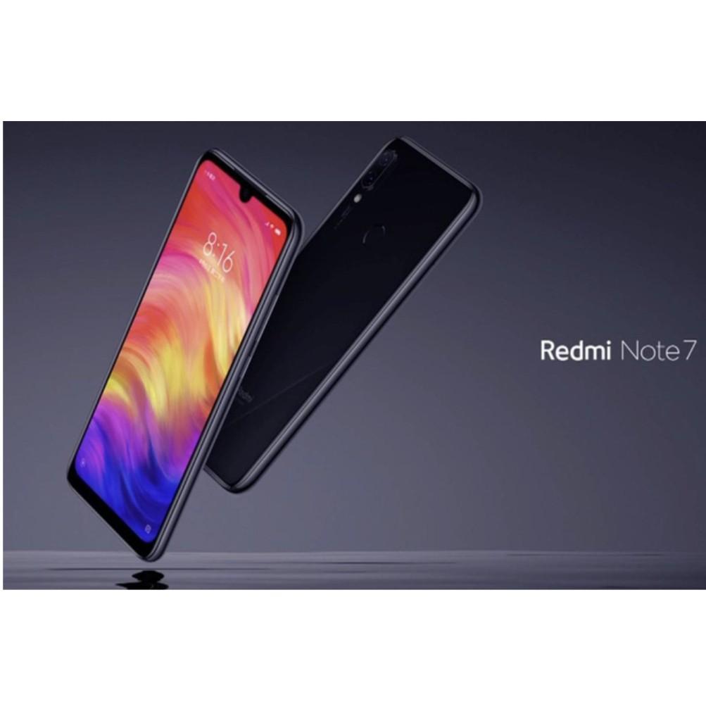 Xiaomi Redmi Note 7 128GB Ram 4GB Kim Nhung - Hàng nhập khẩu (Đen)