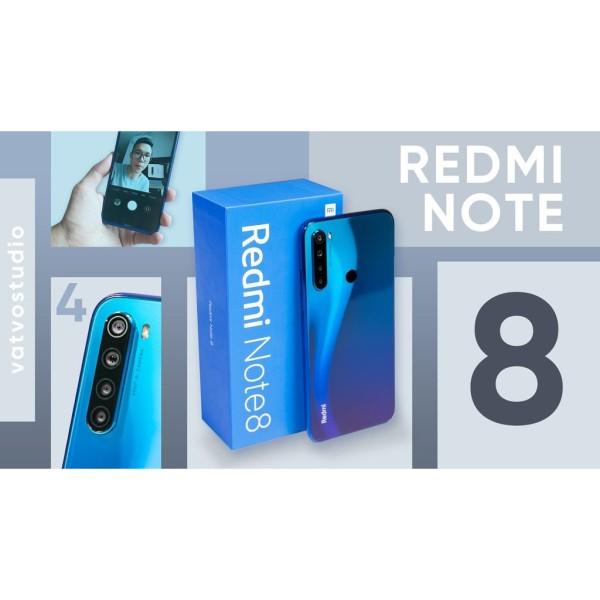 [ MÁY HÃNG ] điện thoại Xiaomi Redmi Note 8 2sim 64G ram 6G mới Chính Hãng - Có TIẾNG VIỆT